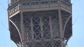 Reaching the top of the Eiffel tower
