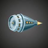 Reactieve turbine royalty-vrije illustratie