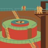 Reactor1 royalty-vrije illustratie