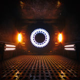 Reactor Alternative Energy Chamber Royalty Free Stock Image