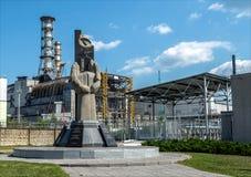 Reactor de la central nuclear de Chernóbil Fotos de archivo