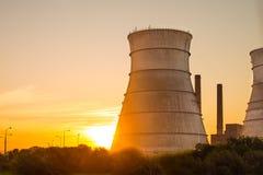 Reactor nuclear Imagen de archivo libre de regalías
