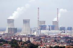 Reactor nuclear Fotos de archivo