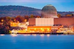Reactor nuclear fotografía de archivo