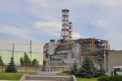 Reactor in Tchernobyl de Oekraïne Stock Foto's