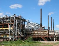 Reactors Of Pyrolysis Royalty Free Stock Image