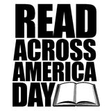Read across America day design Royalty Free Stock Images