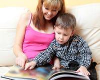 We read the book Stock Photos