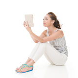 Read a book Stock Photography