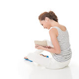 Read a book Stock Image