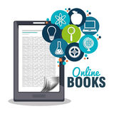 read books online design Stock Images