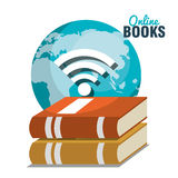 read books online design Royalty Free Stock Photos