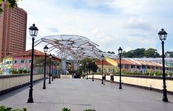 Read Bridge or Malacca Bridge, Singapore Stock Photography
