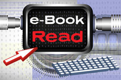 Read ebooks Royalty Free Stock Photo