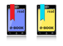 Read ebooks Stock Photo