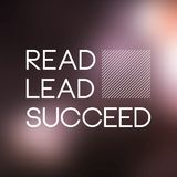 Read, lead, succeed. Education quote with modern background. Vector stock illustration