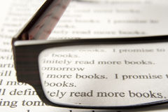 Read more books Stock Photography