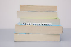 Read more books Stock Images