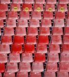 Read seats Royalty Free Stock Photo