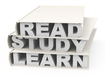 Read, study and learn Royalty Free Stock Image