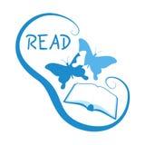 Read symbol royalty free illustration