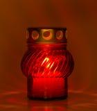 Read Tea Light Royalty Free Stock Image