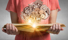 Read to broaden your mind Royalty Free Stock Photo