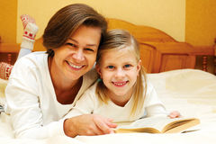 We read together Stock Image