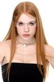 Readhead Beauty Portrait Stock Image