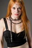 Readhead Beauty Portrait Stock Images