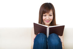 Reading Royalty Free Stock Photography