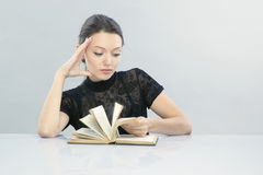 Reading stock photography