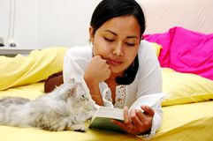 Reading Stock Image