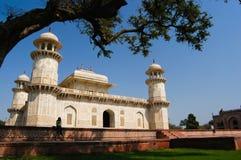Reading in Baby Taj Royalty Free Stock Photos