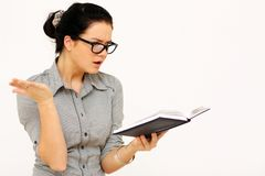 Reading book Stock Images