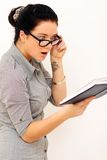 Reading book Stock Photography
