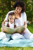 Reading book Royalty Free Stock Image