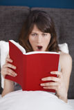 Reading a book Royalty Free Stock Photography