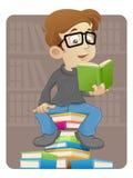 Reading book Stock Photos