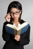Reading Book Stock Image