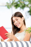 Reading book woman royalty free stock photography