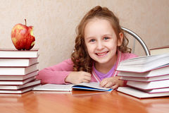 Reading books Stock Photography