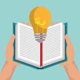 Reading books design. Illustration Royalty Free Stock Photography