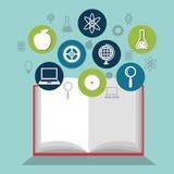 Reading books design. Illustration Stock Image