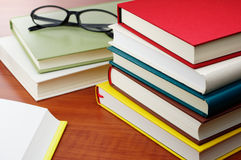 Reading books. Royalty Free Stock Images