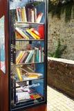 Reading box. Bad Muenstereifel, Germany 2014 Royalty Free Stock Photos