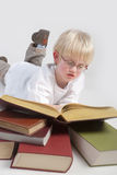 Reading boy Stock Photography