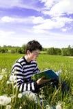 Reading boy Stock Photography