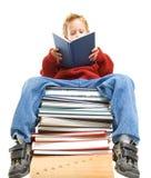 Reading boy Royalty Free Stock Photo