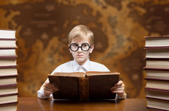 Reading boy Stock Image